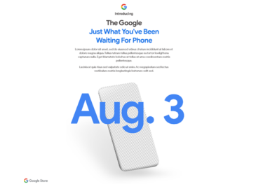 Google Pixel 4a 8月3日発表