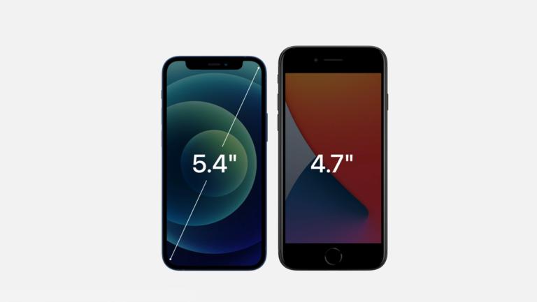 iPhone12miniとiPhone SE2