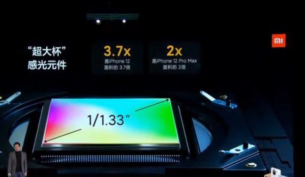 Xiaomi Mi 11 カメラセンサー