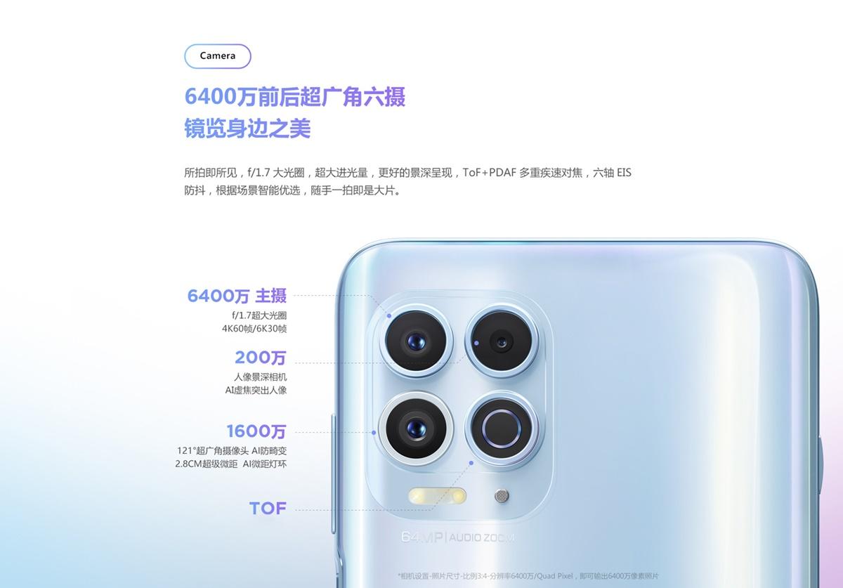 Motorola Edge S カメラ