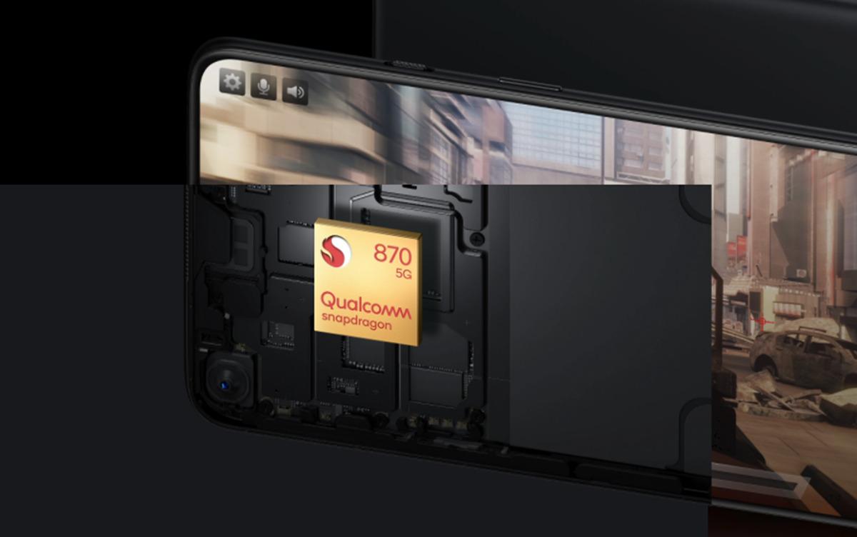 OnePlus 9R Snapdragon 870