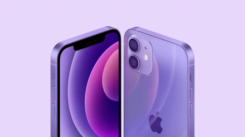 iPhone 12新色パープル