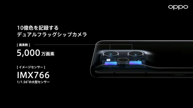 OPPO Find X3 Proデュアルカメラ
