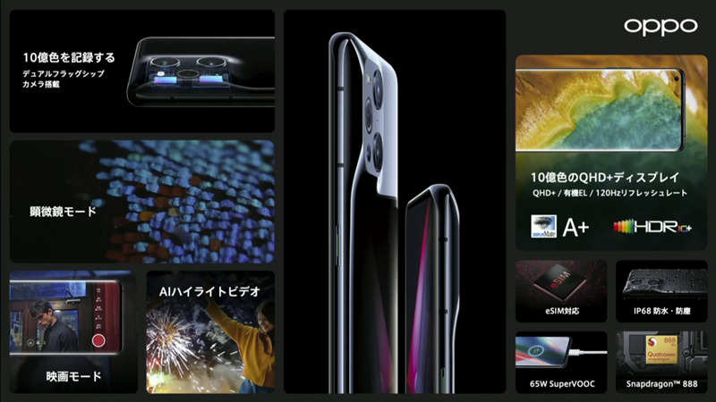 OPPO Find X3 Proまとめ