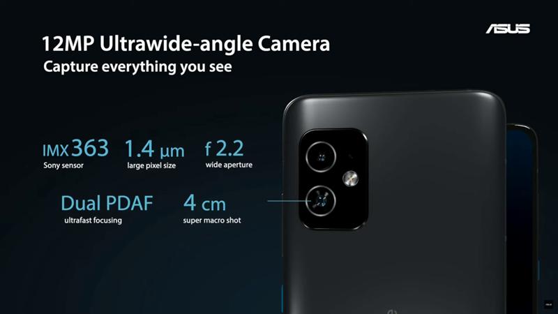 ZenFone 8超広角カメラ