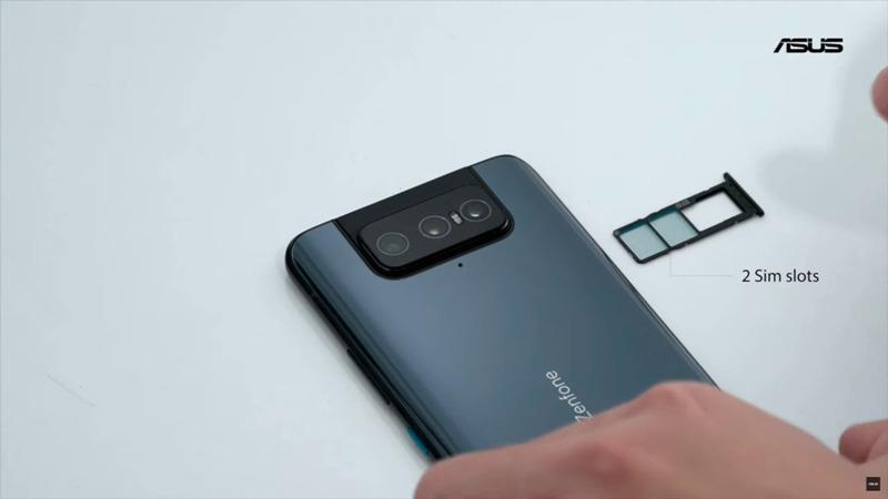 ZenFone 8 Flipトリプルスロット