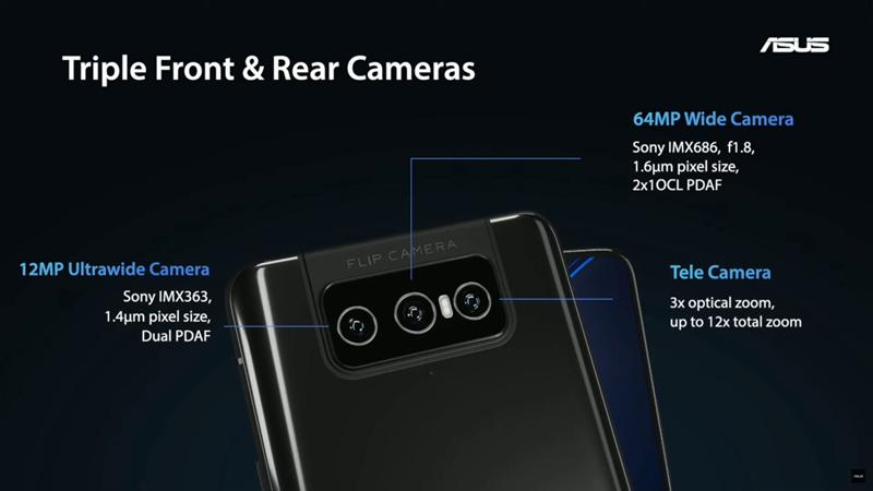 ZenFone 8 Flipカメラ