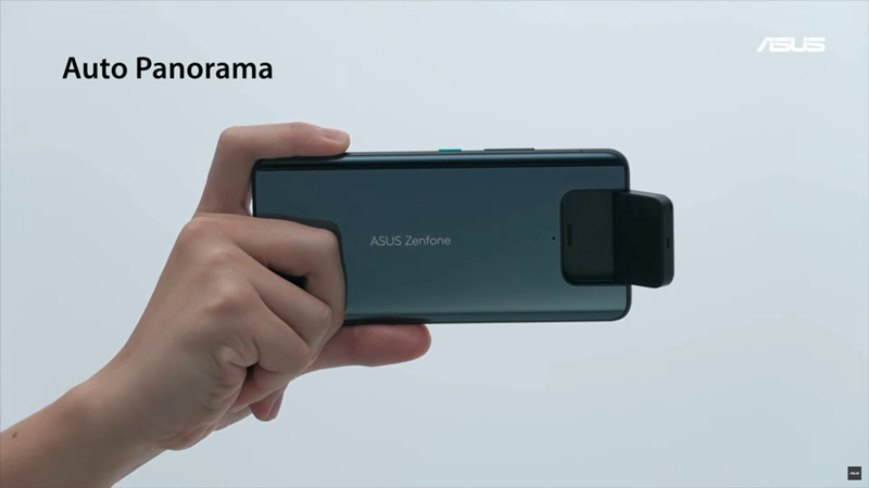 ZenFone 8 Flipフリップ式カメラ