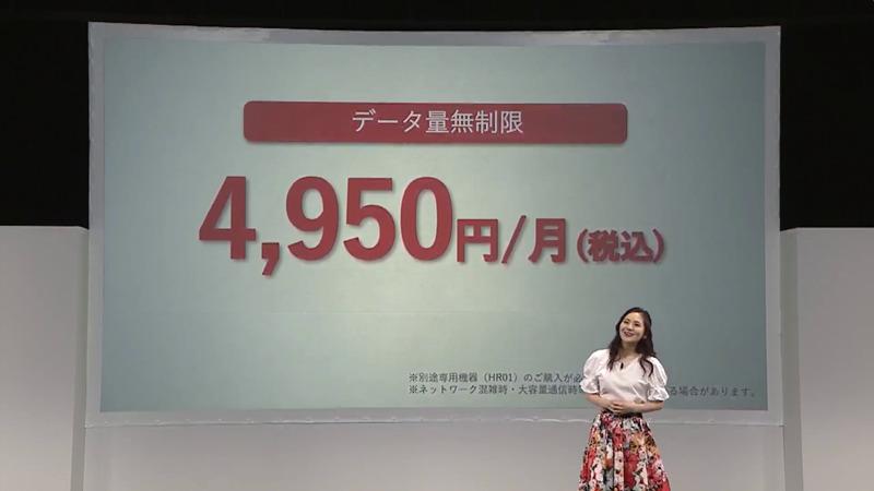 home 5G HR01価格