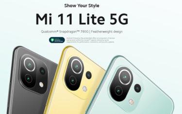 Mi 11 Lite 5Gが初ランクインで1位 今売れてるSIMフリーAndroidスマホTOP10 7/10
