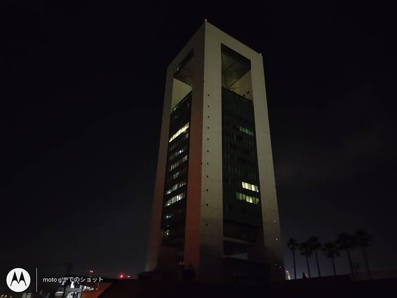 夜間撮影ほぼ真っ暗
